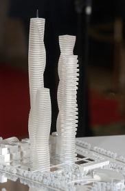 Maqueta de las Torres de Calatrava | Vicent Bosch.