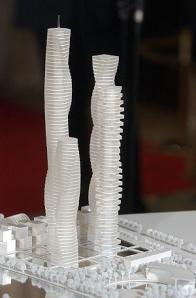 Maqueta de las Torres de  Calatrava   Vicent Bosch.