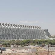 La espectacularidad arquitectónica de CACSA contrasta con unos resultados económicos poco alentadores. |L.Osset.