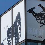Panel identificativo del Bioparc, gestionado por Rainforest, una empresa que ha manifestado interés por participar en el concurso. |L. Osset.