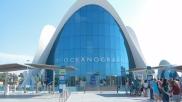 Edificio principal del Oceanográfico. |L.Osset.